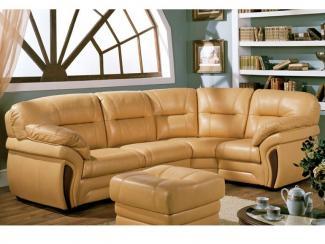 кожаный угловой диван Лестер