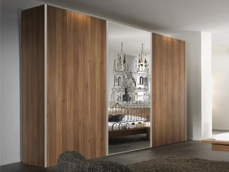 Шкаф-купе Бизнес с витражами - Мебельная фабрика «Виктория»