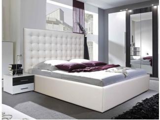 Кровать Tiffany  с высоким изголовьем - Мебельная фабрика «DOSS»