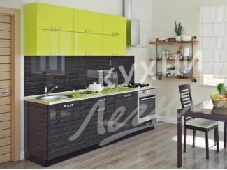 Стильная прямая кухня  - Мебельная фабрика «СтолБери», г. Санкт-Петербург