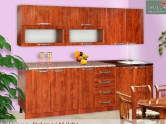 Кухня прямая Лилия DeLuxe (МФД) - Мебельная фабрика «Элна»