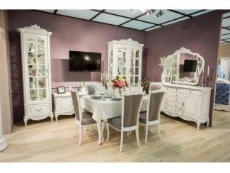 Красивая светлая Гостиная Барокко - Мебельная фабрика «Мебель Черноземья»