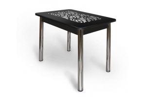 Стеклянный ажурный стол АС 002 - Мебельная фабрика «Александрия», г. Ульяновск