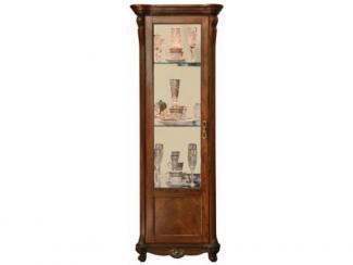 Шкаф с витриной Алези 8 П350.08 - Мебельная фабрика «Пинскдрев»