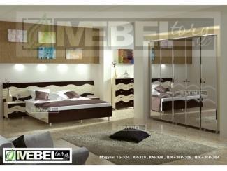 Спальня модульная Каролина 5 - Мебельная фабрика «MebelTory»