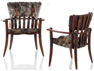 Полукресло в охотничьем стиле BOUGAINVILLE - Импортёр мебели «Arredo Carisma (Австралия)»