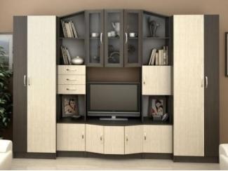 Гостиная со шкафами Макарена - Мебельная фабрика «Олеся», г. Киров
