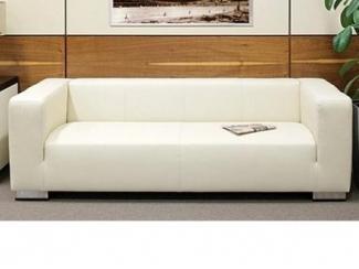 Белый офисный диван ПОНУ - Мебельная фабрика «МКмебель»
