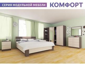 Спальня серии Комфорт - Мебельная фабрика «Шадринская»