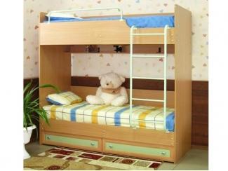 Двухъярусная кровать  - Мебельная фабрика «Михельсон и К», г. Волгодонск