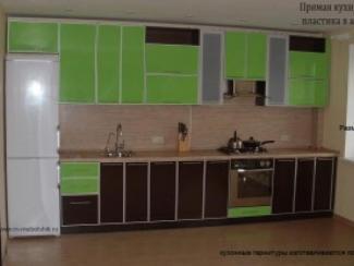 Кухня Пластик  - Мебельная фабрика «Мебельщик»