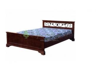 Кровать Лира с ковкой - Мебельная фабрика «Верба-Мебель», г. Муром