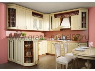 Кухня массив 02 - Мебельная фабрика «Гранд Мебель»