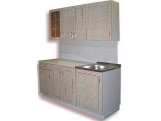 кухня прямая Каприз К (бежевый) - Мебельная фабрика «Киржачская мебельная фабрика»