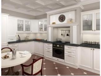 Белая угловая кухня Бьянка - Мебельная фабрика «Основа-Мебель», г. Ульяновск