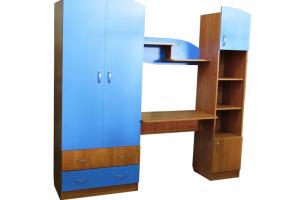 Детская стенка Дима-2 - Мебельная фабрика «Мебельный Арсенал»