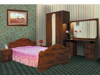 спальный гарнитур Азалия 2 новая - Мебельная фабрика «Долес»