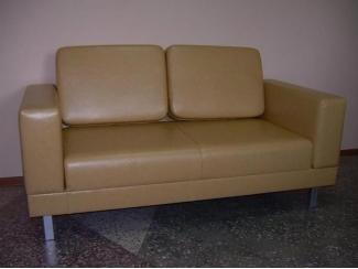 Прямой коричневый диван 4 - Мебельная фабрика «Диван 54»