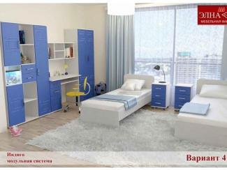 Детская Индиго вариант 4 - Мебельная фабрика «Элна»