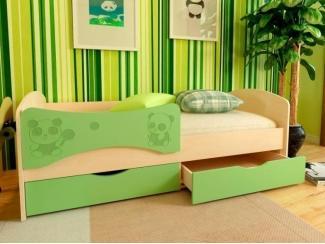 Детская кровать МДФ Панда