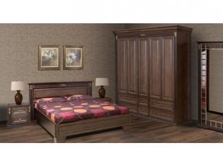 Простой спальный гарнитур  - Мебельная фабрика «Астмебель»