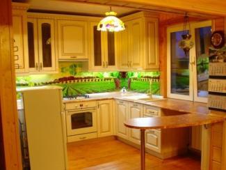 Кухня Наполи массив - Мебельная фабрика «Илья-Сейф (Добрые кухни)»