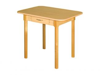 Стол обеденный ДН3 с ящиком - Мебельная фабрика «Виктория»