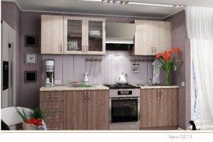 Кухня ЛДСП 4 - Мебельная фабрика «ПластДекор» г. Кузнецк