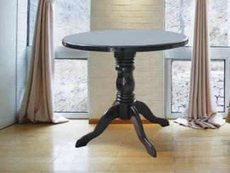 Стол круглый массив дерева - Мебельная фабрика «Алина-мебель»