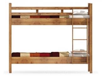 Двухъярусная кровать с ортопедическим основанием Юниор  - Мебельная фабрика «Фран»