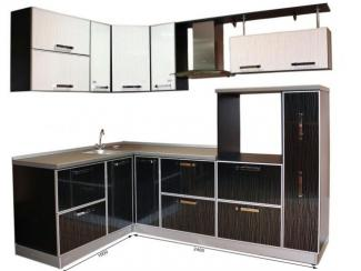 Кухонный гарнитур угловой Кортни-техно-2