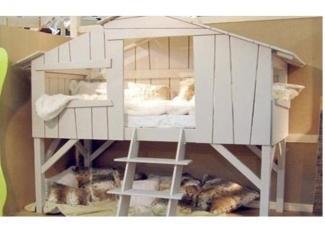 Кровать Домик-хижина  - Мебельная фабрика «МебельМульт»