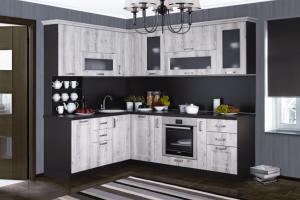 Кухня угловая Мэри МДФ - Мебельная фабрика «Трио»