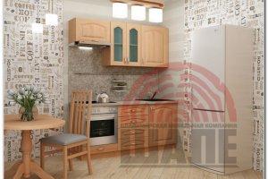 Кухня небольшая Альфа-Гарвард - Мебельная фабрика «ВМК-Шале»