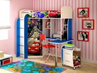 Детская комбинированная Ночные тачки - Мебельная фабрика «Ивушка»