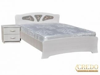 Большая белая кровать  - Мебельная фабрика «Кредо», г. Ульяновск