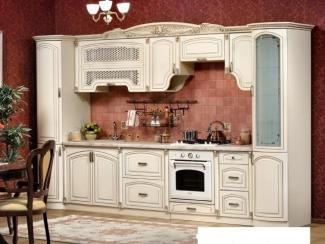Кухонный гарнитур прямой Марлен 3,7 м