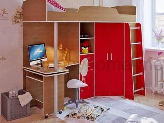 Детская кровать-чердак Родник - Мебельная фабрика «Happy home»