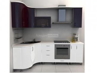 Кухня с ультрамодным дизайном хамелеон Арт-Модерн 10 - Мебельная фабрика «Аркадия-Мебель»