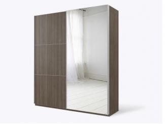 Большой шкаф с зеркалом Ноун  - Изготовление мебели на заказ «Кухни ЧУ»