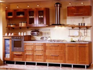 Кухня прямая Кантри 14