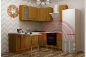 Кухня угловая Йота-Гарвард - Мебельная фабрика «ВМК-Шале»