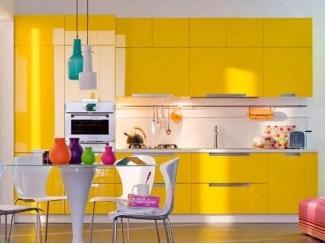Яркий кухонный гарнитур Елоу - Мебельная фабрика «Манго»