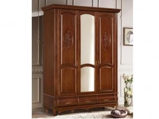 Шкаф Оскар 3-дверный с декором - Мебельная фабрика «Ивна», г. Яблоновский