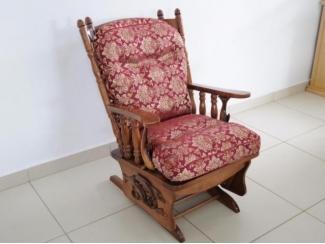 Кресло-качалка Версаль 1 с элементами ручной работы  - Мебельная фабрика «Версаль»