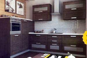 Кухня Квадро Монро - Мебельная фабрика «Кухни МЕСТО»