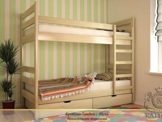 Кровать Тандем - Мебельная фабрика «Каприз»