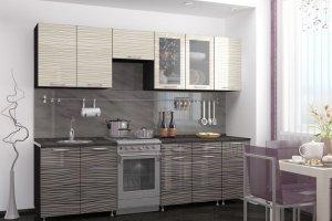 Кухонный гарнитур Муссон  - Мебельная фабрика «Славные кухни (ИП Ларин В.Н.)»