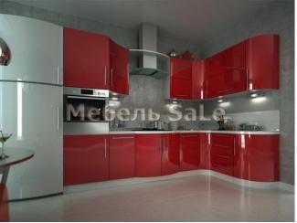 Угловая красная кухня - Мебельная фабрика «Мебель СаЛе»