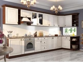 Новый кухонный гарнитур с фасадами из массива дуба Юлия 5 - Мебельная фабрика «Фран»